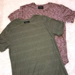 Bundle of 2 Pacsun Long Fit Shirts